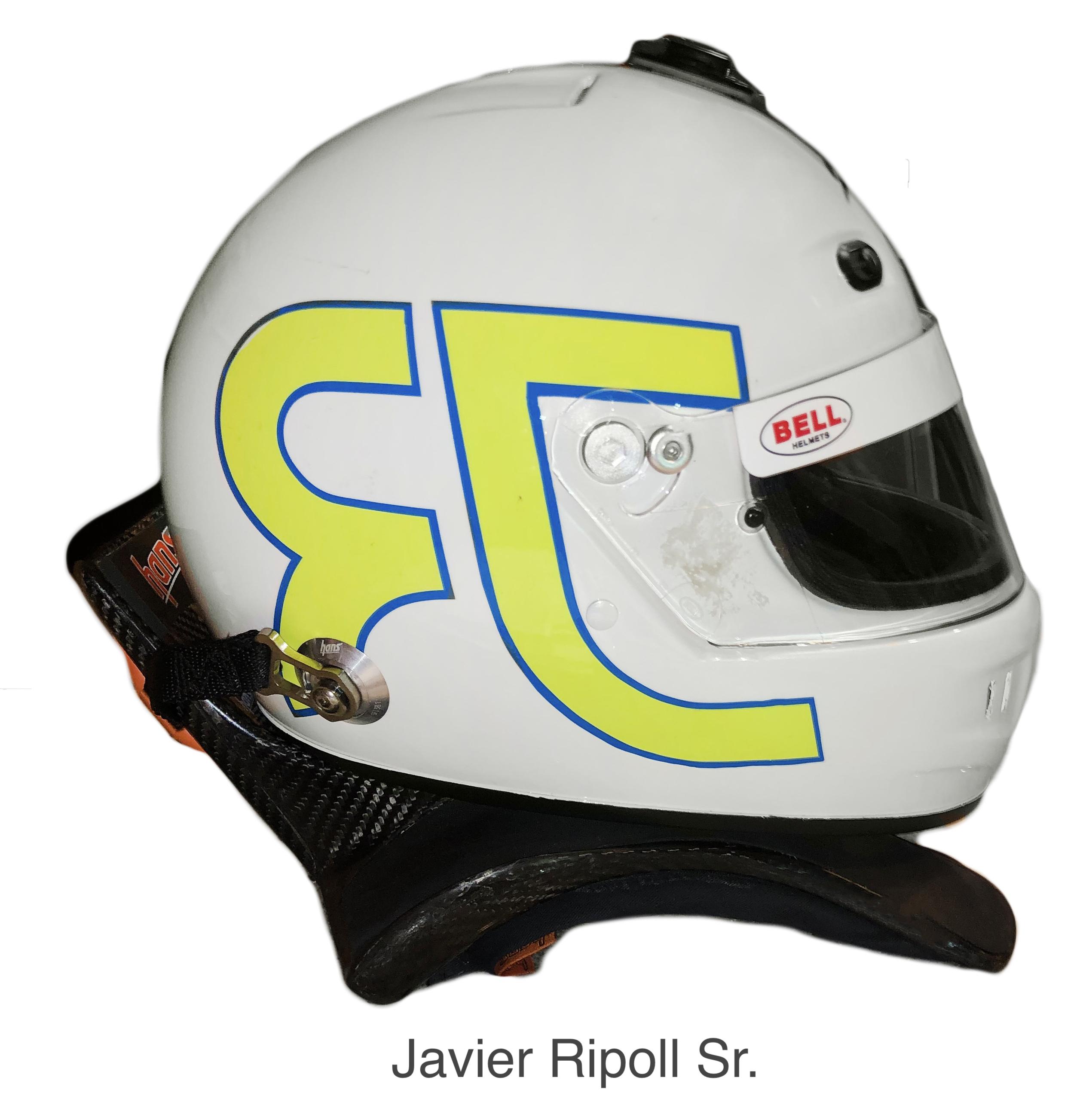 BELL Helmet Javier Ripoll Sr