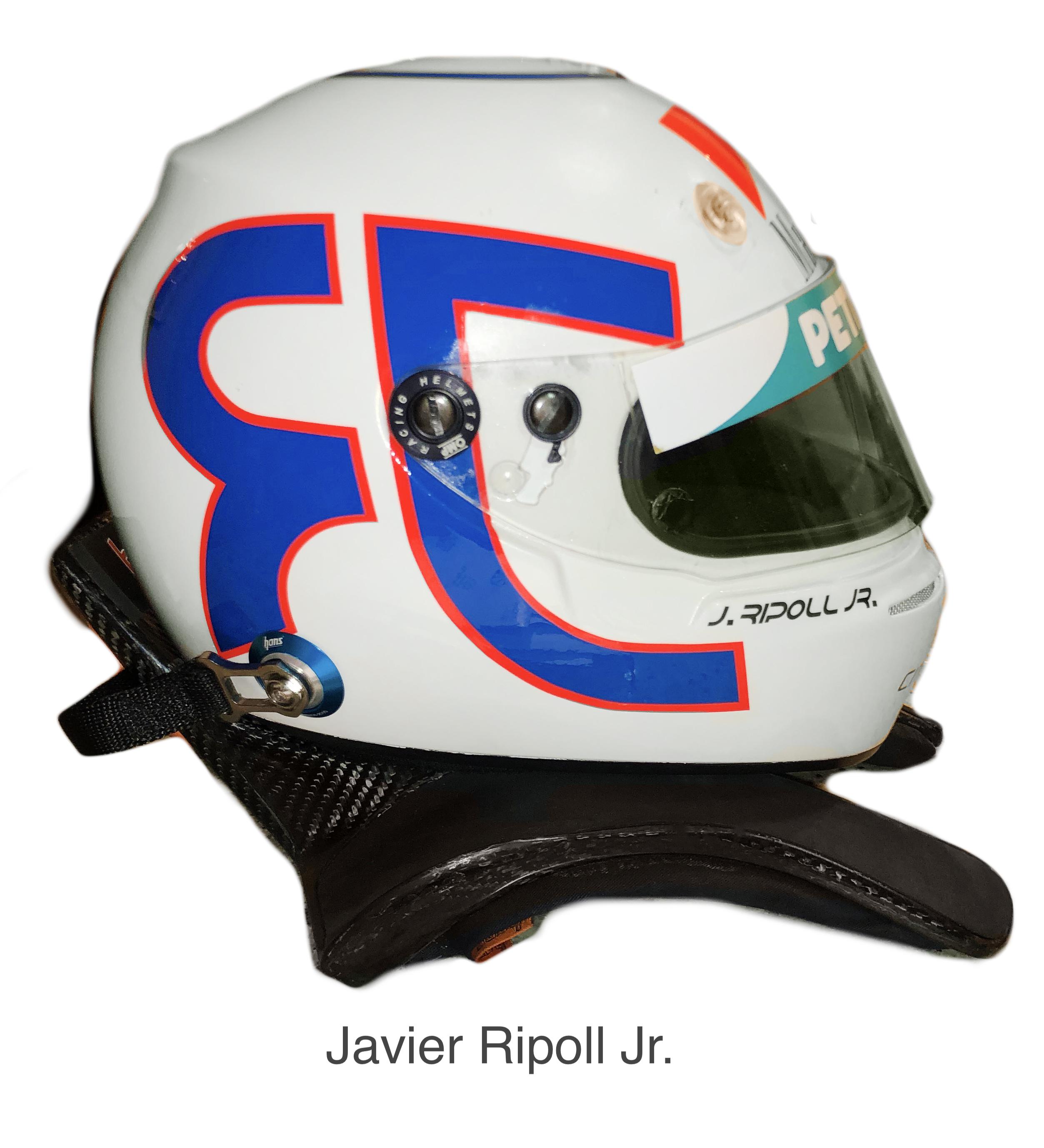 OMP Helmet Javier Ripoll Jr